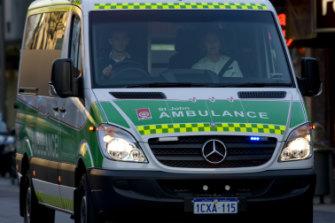 The boy was taken to hospital by St John Ambulance.