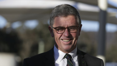 """Coalition MP David Gillespie on Wednesday: """"It's all a bit of a beat up."""""""