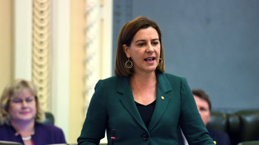 LNP leader Deb Frecklington said there were systemic issues with Queensland Health's software rollouts.