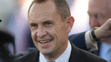 Three-year-old trio: Chris Waller has high hopes for Orcein, Ritmico and Romani Girl.