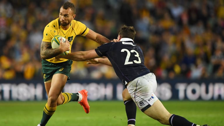 Should Quade Cooper join the Brumbies?
