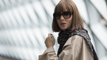 Cate Blanchett as Bernadette Fox in Richard Linklater's Where'd You Go, Bernadette.