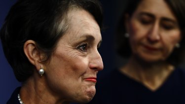 """Pru Goward said it was a """"very difficult decision"""" to leave politics."""