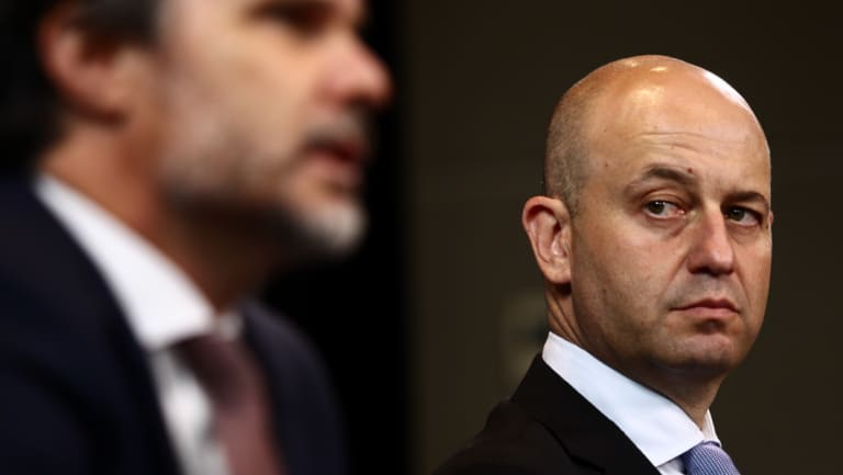 Disrespectful: NRL CEO Todd Greenberg invited Shane Flanagan to hear his fate in person.