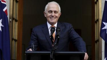 Quitting politics: former prime minister Malcolm Turnbull.