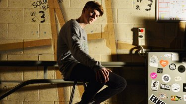 15-year-old singer Ruel will be headlining the Metro Theatre on Saturday.