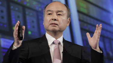 SoftBank, run by chief executive Masayoshi Son, was down $US9 billion on its investment in Uber on Friday.