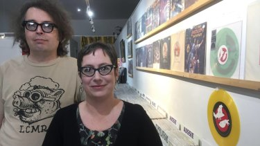 Donat Tahiraj and Julie Morrison from Phase 4 Records say the new venue will bring people back to Fortitude Valley.
