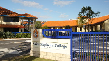 Saint Stephen's College is on Reserve Road at Coomera.