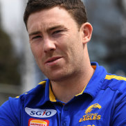 Premiership Eagle Jeremy McGovern was taken at pick 44 in the 2011 rookie draft.