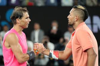 Kyrgios lost a brilliant four set encounter against Nadal.