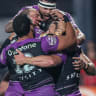 Tuivasa-Sheck runs riot to put Warriors on finals footing