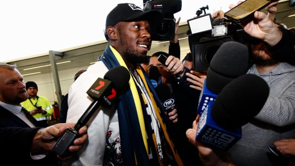 'This is real': Bolt ready for physical test of Mariners A-League trial