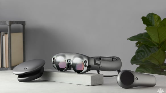 Magic Leap One shows collision of real and virtual worlds inevitable