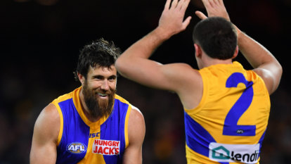 West Coast down Adelaide Crows after titanic struggle