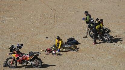 Goncalves dies in Dakar Rally crash
