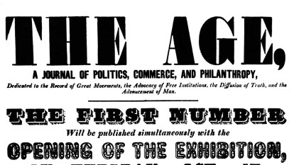On our 165 birthday, a look back at our very first editorial