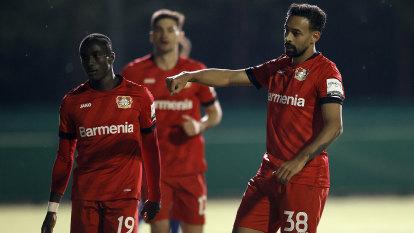 Leverkusen roll Saarbrucken to book place in German Cup final