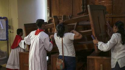 Pro-government crowd attacks church parishioners in Nicaragua