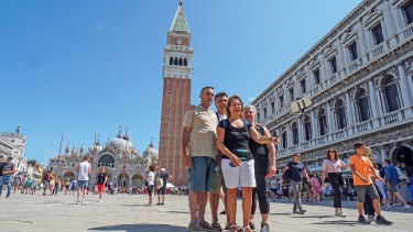 Tourism resumed in Italy this summer.
