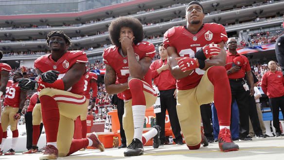 NFL mandates anthem respect: Stand up, or stay in the locker room