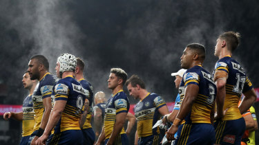 Parramatta need points in the second half.