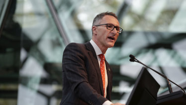 """Greens leader Richard Di Natale says the election result was a """"complete shock"""" to him."""