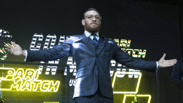 Conor McGregor has lost none of his famed bravado as he announced his return to UFC.