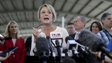Kristina Keneally goes on the attack against Home Affairs Minister Peter Dutton.