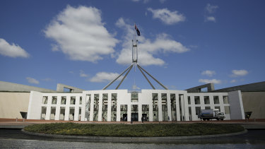 Today's Federal Parliament is, of course, almost unrecognisable compared with the relatively small operation that ran the country during the world wars.