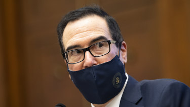Treasury Secretary Steven Mnuchin.