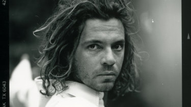 Mystify includes never before seen images of Hutchence.