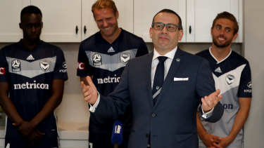 Anthony Di Pietro says the A-League can't rest on its laurels.