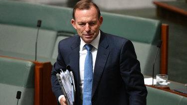 Tony Abbott, a Ramsay Centre board member.