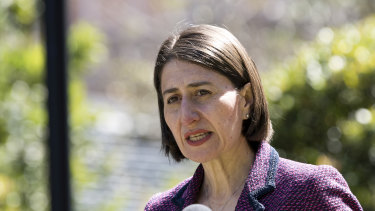 NSW Premier Gladys Berejiklian has eased a number of virus restrictions, including larger dance floors at weddings.