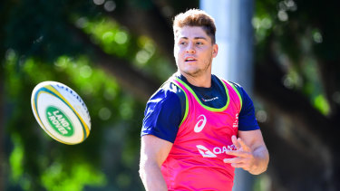 Back: James O'Connor's comeback to Australian rugby has gathered pace.