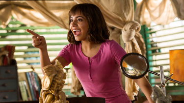 Isabela Moner stars as the eponymous heroine in Dora and the Lost City of Gold.