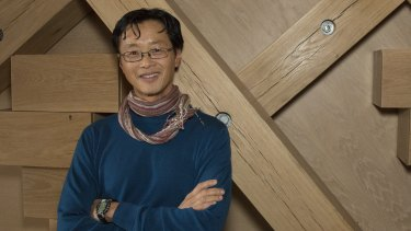Edwin Chan at CHALET, a collaboration with artist Piero Golia.