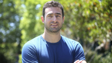 Brice Vaxelaire who immigrated from France and now lives in Cremorne on Sydney's lower north shore.