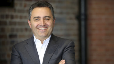 Domain chief executive Jason Pellegrino is optimistic of an improvement in listings.