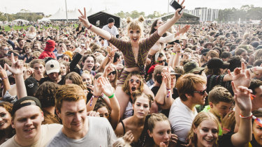 Last year's Groovin the Moo in Canberra was the first music festival in Australia where legal pill testing was conducted.