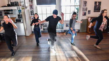 Tap dance teacher Grant Swift, from Rhythm Tap Melbourne, says he loves helping adults rediscover their love of dance.