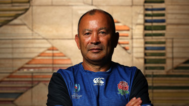 Eddie Jones ahead of Saturday's Rugby World Cup final between England and South Africa.