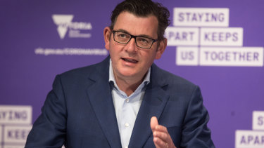 Daniel Andrews says contact tracing in Victoria has improved.