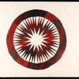 Peter Blake table surface artwork.