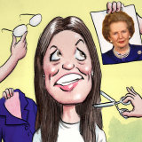 Kate Ellis was told to undertake a makeover similar to one Margaret Thatcher once had.