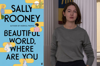 Sally Rooney's new book is called Beautiful World, Where Are You.