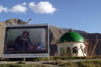 The tomb of Ahmad Shahr Massoud up in the mountainous province of Panjshir. Massoud was one of the most powerful and successful Mujahideen commanders fighting the Russians, being a key player in the civil war and then fighting the Taliban.
