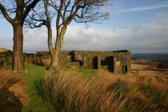 The ruins of the Top Withens farmhouse, which is believed to  have inspired the setting for Wuthering Heights.