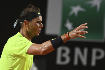 Rafael Nadal is out of the tournament.